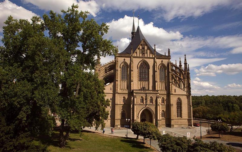 20 - Kutná Hora - one of the most beautiful historic towns of the Czech Republic (38 km)