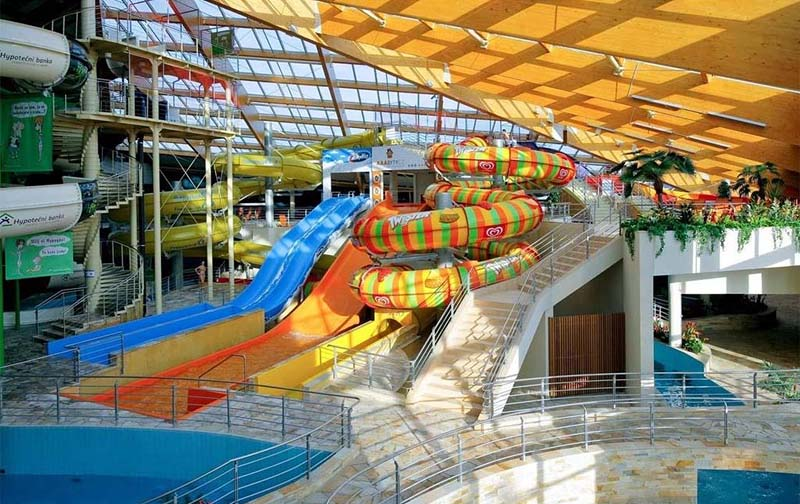 23 - Aquapalace Čestlice - one of the largest water parks in Europe (16 km)